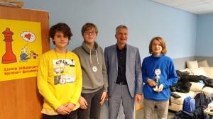Schulmeister der HBS wurde Liam (R9a) vor Raphael (R9c) und Ziemowit (R8a)